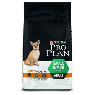 Сухой корм Proplan для взрослых собак мелких и карликовых пород курица/рис 7,5 кг (12152742)
