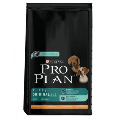 Сухой корм Proplan для щенков средних пород курица/рис 18кг (12272389)