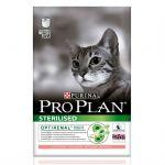 Сухой корм Proplan для стерилизованных кошек и кастрированных котов с лососем 10 кг (12171890)