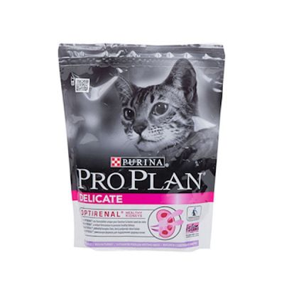 Сухой корм Proplan Delicate для котов c чувствитльным пищеварением индейка 1,5кг + 400г (12275538)