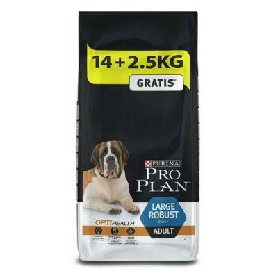 Сухой корм Proplan для взрослых собак крупных пород мощного телосложения курица/рис 14кг + 2,5кг (12272466)