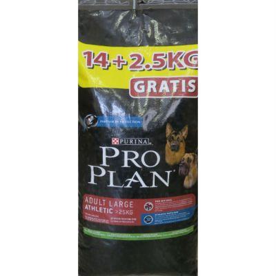 Сухой корм Proplan для собак крупных пород ягненок/рис 14,5+2,5кг (12150840)