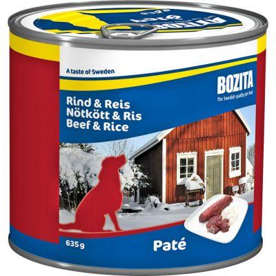 Консервы Bozita для собак говядина/рис 635г
