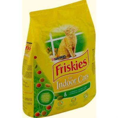 Сухой корм Friskies Indoor для домашних кошек 2 кг (12032166)