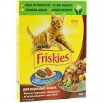 Сухой корм Friskies для взрослых кошек мясо/курица/овощи 400 г (12152613)