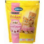 Сухой корм Friskies Хрустящий и Нежный для котят с курицей 600г (12261252)