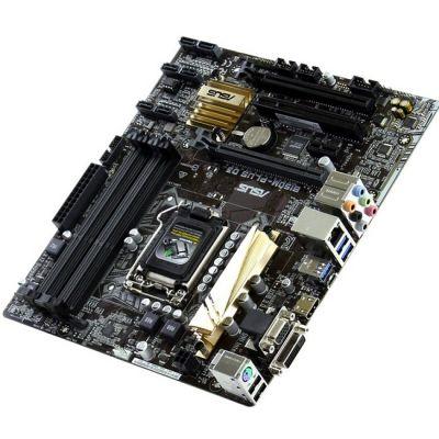 Материнская плата ASUS (RTL) LGA1151 < B150 > 2xPCI - E Dsub+DVI+HDMI GbLAN SATA MicroATX 4DDR3 B150M-PLUS D3