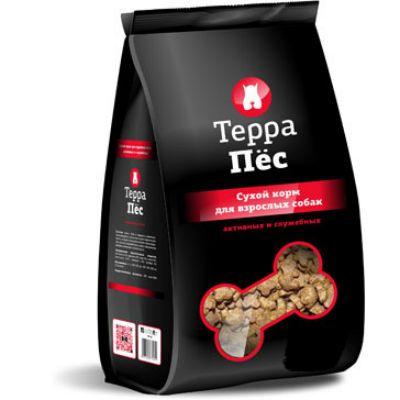 Сухой корм Терра Пес для взрослых собак крупных пород упак.12 кг