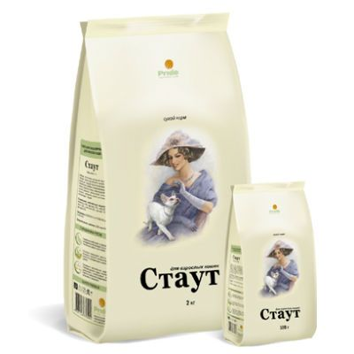 Сухой корм Стаут гипоаллергенный для взрослых кошек с мясом ягненка и рисом упак.15кг