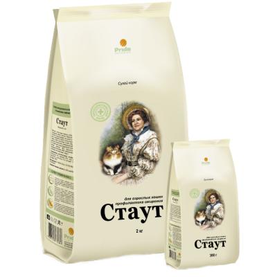 Сухой корм Стаут для взрослых кошек профилактика ожирения упак.15кг