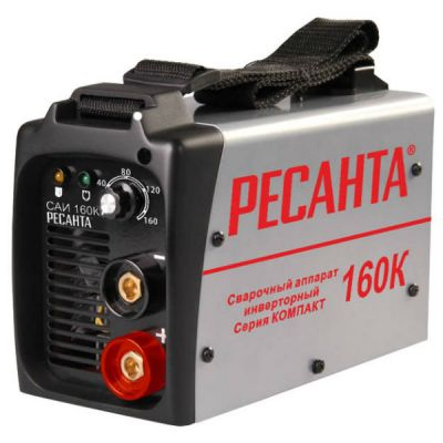 Аппарат РЕСАНТА сварочный инверторный САИ-160К(компакт)