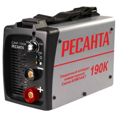 Аппарат РЕСАНТА сварочный инверторный САИ-190К(компакт)