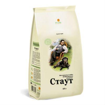 Сухой корм Стаут для взрослых собак профилактика ожирения упак. 0.5кг