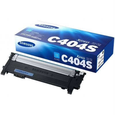 Расходный материал Samsung SL-M430/SL-M480 Print Cartridge Cyan CLT-C404S/SEE, CLT-C404S/XEV