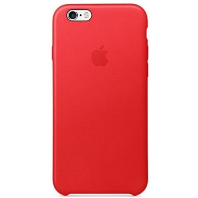 ����� Apple ��� iPhone 6 Plus/ 6s Plus Leather Case - RED MKXG2ZM/A