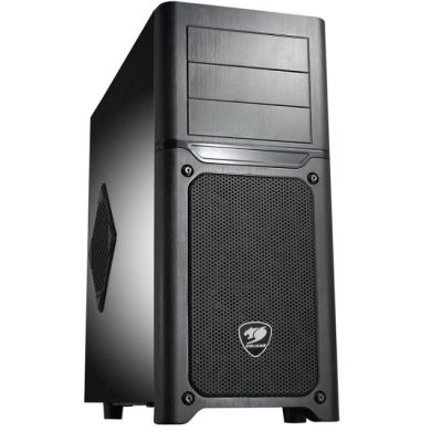Корпус Cougar MX500, ATX , w/o PSU, 2xUSB3.0, 2xUSB2.0, Black, 2x12cm fan 6HMA