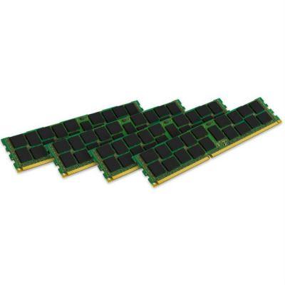 Оперативная память Kingston 64GB 1866MHz DDR3 ECC Reg CL13 DIMM (Kit of 4) DR x4 w/TS KVR18R13D4K4/64