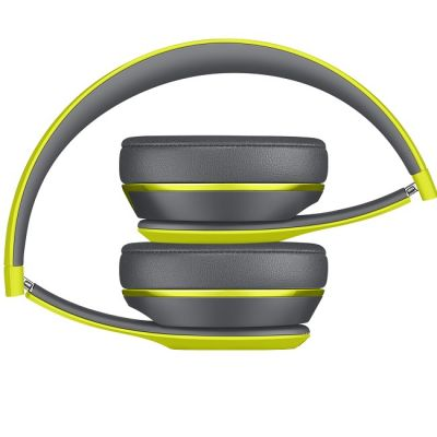 Наушники с микрофоном Apple Beats Solo2 Wireless Headphones Active Collection - Yellow MKQ12ZE/A