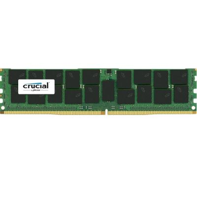 Оперативная память Crucial DDR4 2133 (PC 17000) LRDIMM 288 pin, 1x32 Гб, буферизованная, ECC, 1.2 В, CL 15 CT32G4LFQ4213