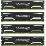 Оперативная память Crucial Ballistix Sport DDR3 1600 (PC 12800) DIMM 240 pin, 4x8 Гб, 1.5 В, CL 9 BLS4CP8G3D1609DS1S00BEU