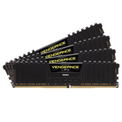 Оперативная память Corsair DDR4 2133 (PC 17000) DIMM 288 pin, 4x8 Гб, 1.2 В, CL 15 CMK32GX4M4A2133C15