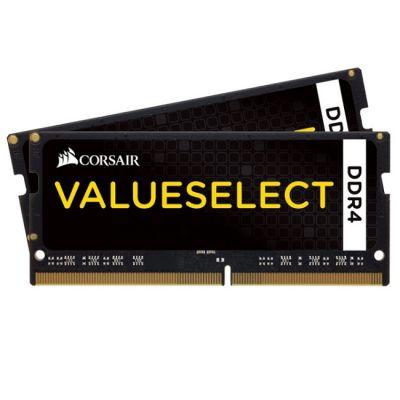 Оперативная память Corsair DDR4 2133 (PC 17000) SODIMM 260 pin, 2x4 Гб, 1.2 В, CL 15 CMSO8GX4M2A2133C15