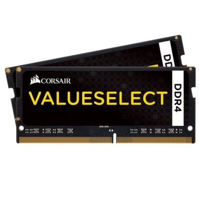 Оперативная память Corsair DDR4 2133 (PC 17000) SODIMM 260 pin, 2x8 Гб, 1.2 В, CL 15 CMSO16GX4M2A2133C15