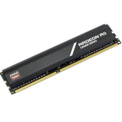 Оперативная память AMD DDR3 2133 (PC 17000) DIMM 240 pin, 1x4 Гб, 1.65 В, CL 10 R934G2130U1S