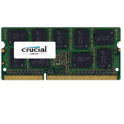 ����������� ������ Crucial DDR3L 1600 (PC 12800) SODIMM 204 pin, 1x4 ��, ECC, 1.35 �, CL 11 CT51272BF160B