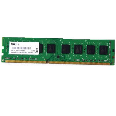 Оперативная память Foxline DDR4 2400 (PC 19200) DIMM 288 pin, 1x8 Гб, 1.2 В, CL 15 FL2400D4U15-8G