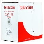 """Кабель Telecom """"Telecom Ultra"""" Light UTP CCA, 4 пары, кат.5е, 305 м. (0,4) TUS44040E"""