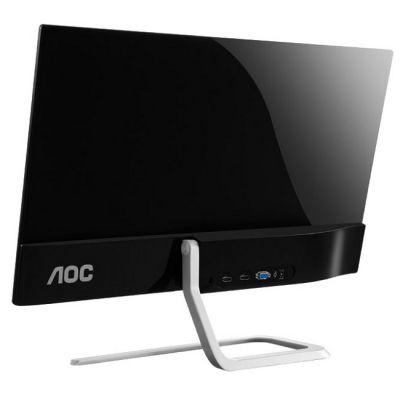 Монитор AOC I2481FXH Silver-Black