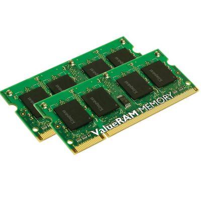 Оперативная память Kingston DDR3 1333 (PC 10600) SODIMM 204 pin, 2x8 Гб, 1.5 В, CL 9 KVR13S9K2/16