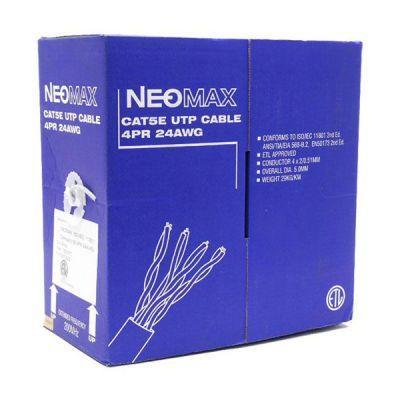 Кабель Neomax NM10101 UTP 200Mhz, 4 пары, кат. 5е, 305 м., медный