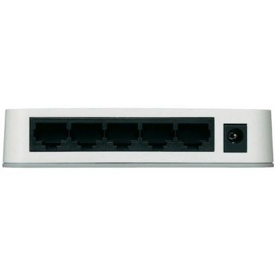 Коммутатор Netgear 5 - port Fast E - net Switch (5UTP 10 / 100Mbps) FS205-100PES