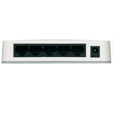 Коммутатор Netgear 5 - port Gigabit Switch (5UTP 10 / 100 / 1000Mbps) GS205-100PES