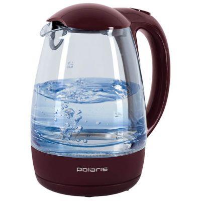 Электрический чайник Polaris PWK 1768CGL (бордовый)