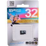 ����� ������ Silicon Power microSDHC Memory Card 32Gb Class10 SP032GBSTH010V10