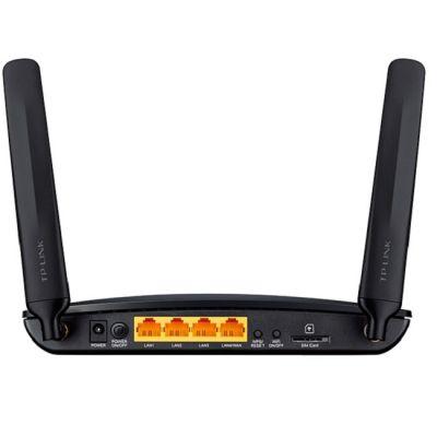 Wi-Fi ������ TP-Link 4G/Wi-Fi, 802.11n, 300 ����/�, 4xLAN TL-MR6400