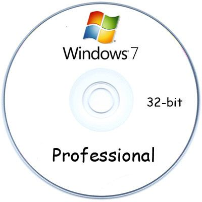 Программное обеспечение Microsoft Windows 7 Professional 32-bit oei DVD Russian FQC-00790