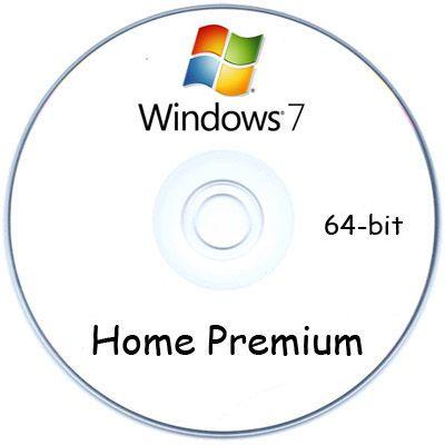 Программное обеспечение Microsoft Windows 7 Home Premium 64-bit oei (Rus) GFC-00644