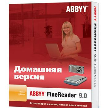 ����������� ����������� ABBYY FineReader 9.0 Home Edition AF90-8K1B01-102