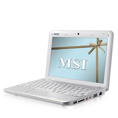 Ноутбук MSI Wind U100-041 Red