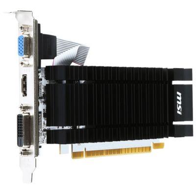 Видеокарта MSI GeForce GT 730 902Mhz PCI-E 2.0 2048Mb 1600Mhz 64 bit DVI HDMI HDCP N730K-2GD3H/LP