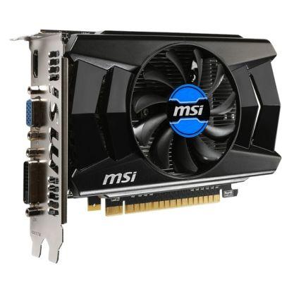Видеокарта MSI GeForce GTX 750 Ti 1059Mhz PCI-E 3.0 1024Mb 5400Mhz 128 bit DVI HDMI HDCP N750Ti-1GD5/OC
