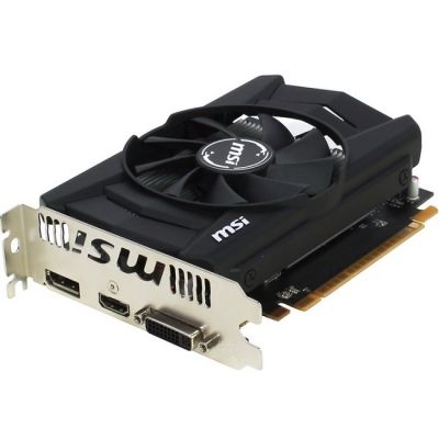 Видеокарта MSI Radeon R7 360 1100Mhz PCI-E 3.0 2048Mb 6000Mhz 128 bit DVI HDMI HDCP R7-360-2GD5-OCV1