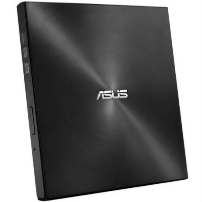 ASUS Внешний привод DVD-RW SDRW-08U7M-U черный USB ultra slim (SDRW-08U7M-U/BLK/G/AS)