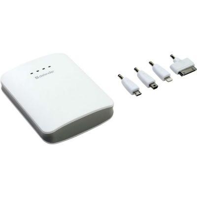 Портативный аккумулятор (Power Bank) Defender USB ExtraLife 10400mAh 83610