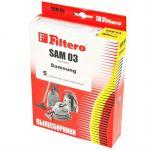 Пылесборник FILTERO SAM 03 Standard, двухслойные, 5 шт