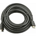 Кабель Telecom HDMI to HDMI (19M -19M) ver.1.4b, 10м, с позолоченными контактами CG501D-10M